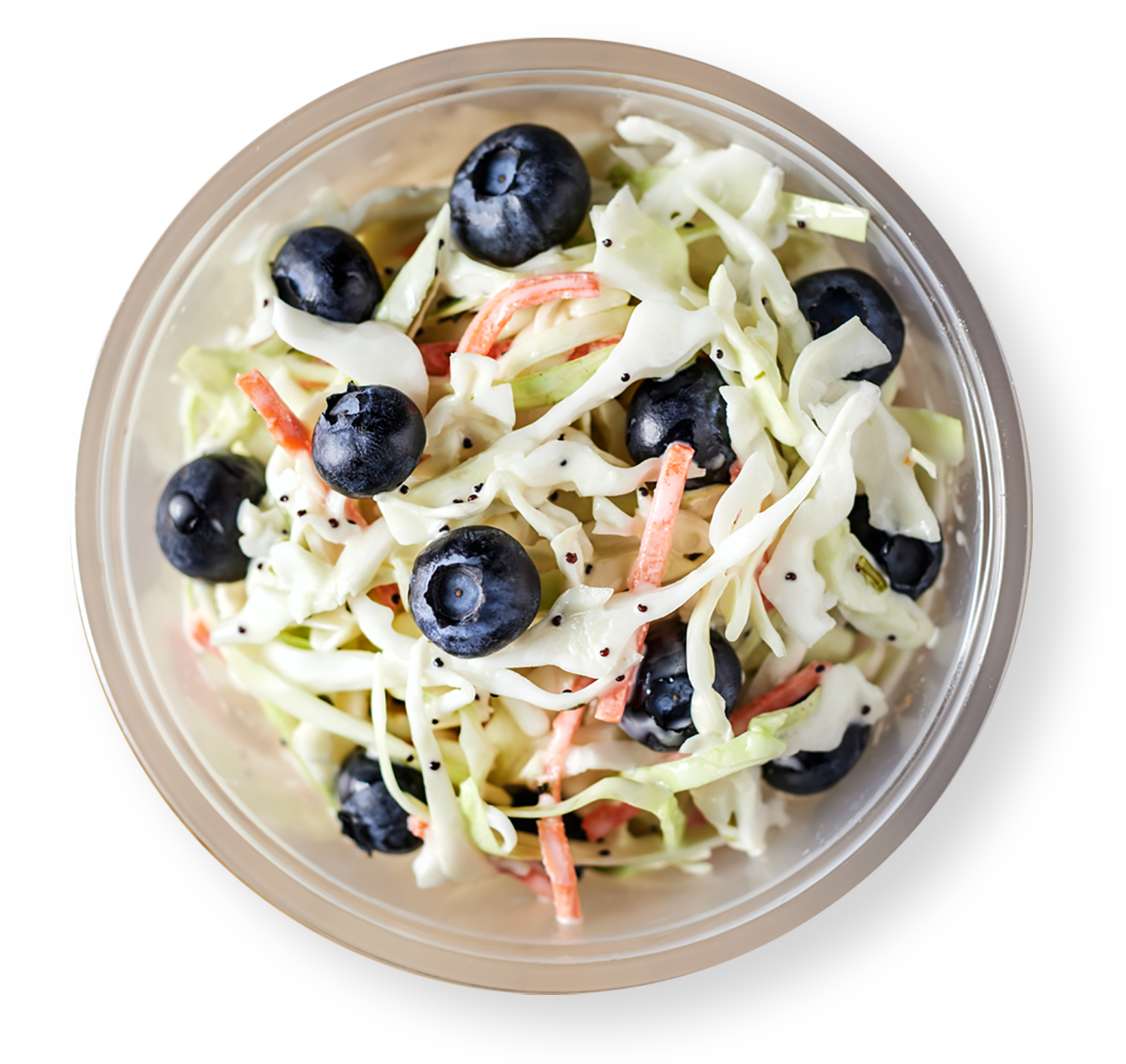 Fresh Blueberry Coleslaw