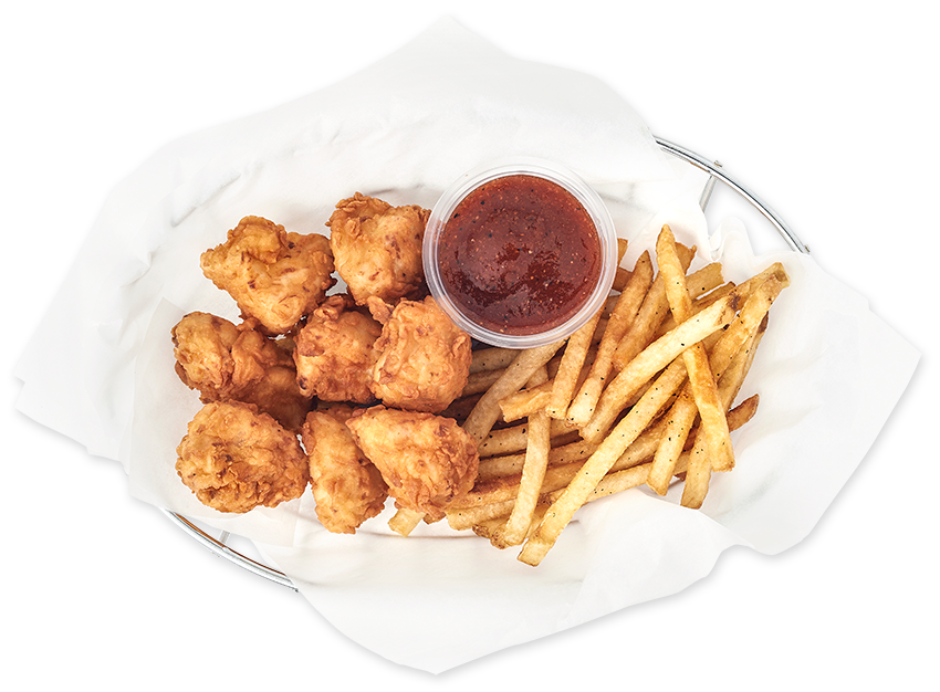 Honey Marinated Nuggets Meal