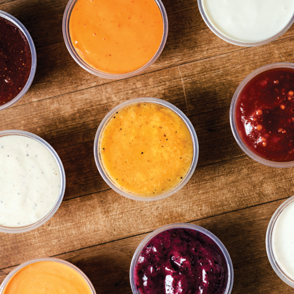 PDQ Sauces and Dressings