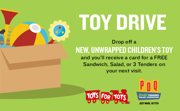 Toys For Tots 2017 North Carolina : Pdq carolinas hosts annual toys for tots holiday drive