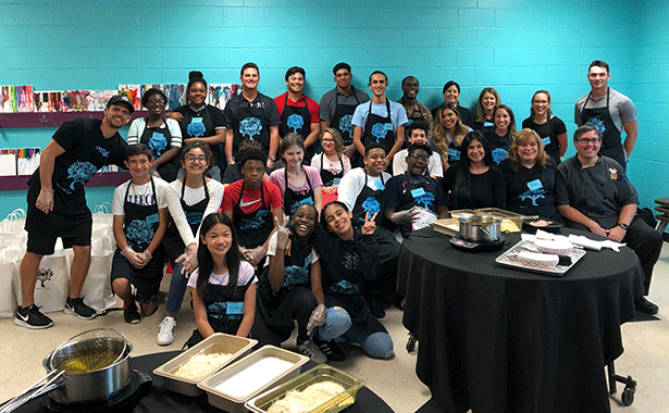 PDQ Hosts Cooking Class with Where Love Grows and Boys and Girls Club