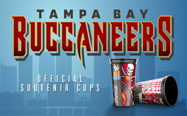 Tampa Bay Buccaneers. 2020 Official Souvenir Cups