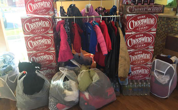 Carolinas Coat Drive More than 1400 Coats Collected