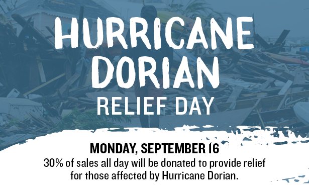 PDQ to host fundraising day on Monday September 16 to raise money for victims of Hurricane Dorian at nine South Florida locations