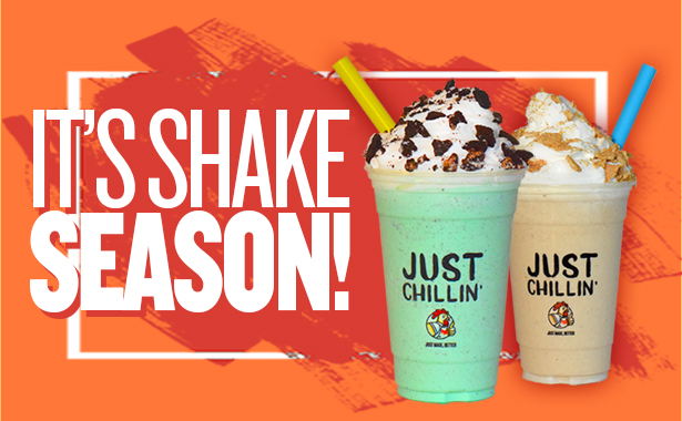 It is Shake Season. Apple Pie and Mint Oreo