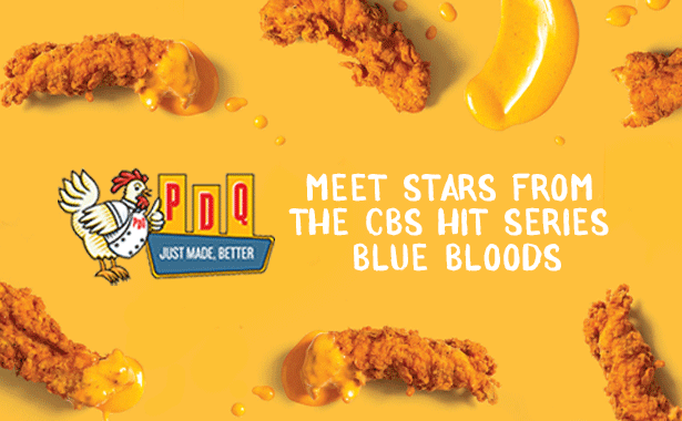 Meet stars from the CBS hit series Blue Bloods at PDQ Farmingdale on Thursday January 9