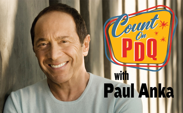 Count on PDQ with Paul Anka