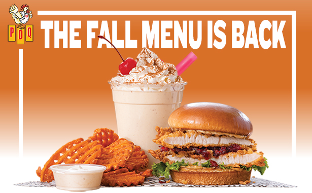 The Fall Menu is Back. PDQ Just Made Better
