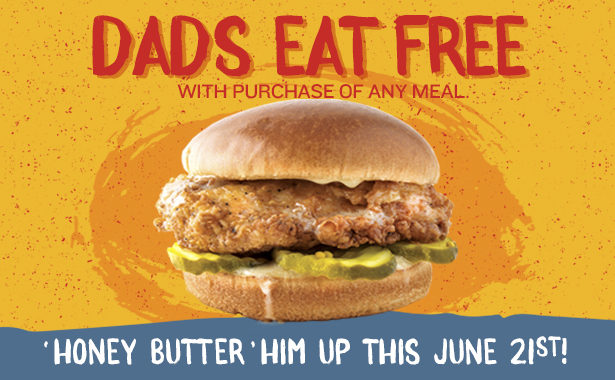 Dads Eat Free on Father