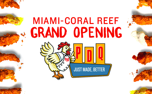 Miami Coral Reef Grand Opening November 8