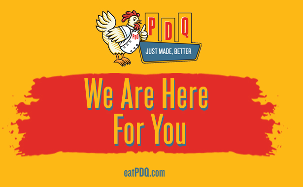 PDQ. We are Here for you.