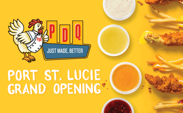 PDQ Port St Lucie Grand Opening