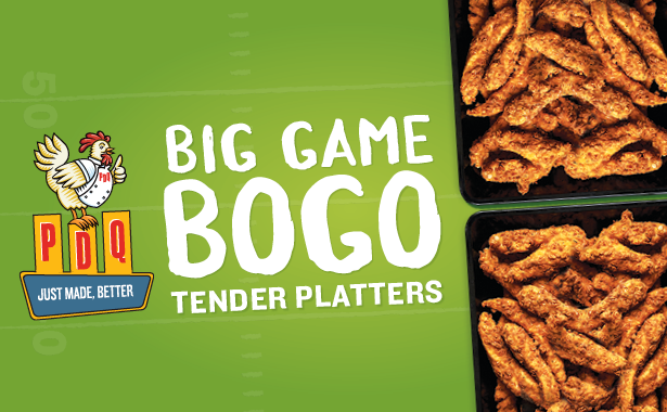 Big Game BOGO Tender Platters