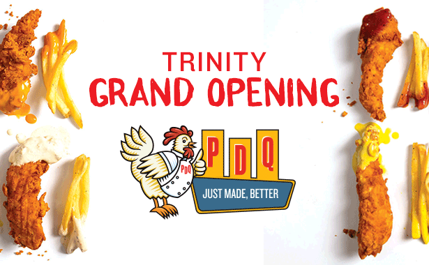 PDQ Trinity Grand Opening
