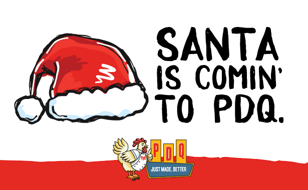 Santa Claus is Coming to PDQ in 2019