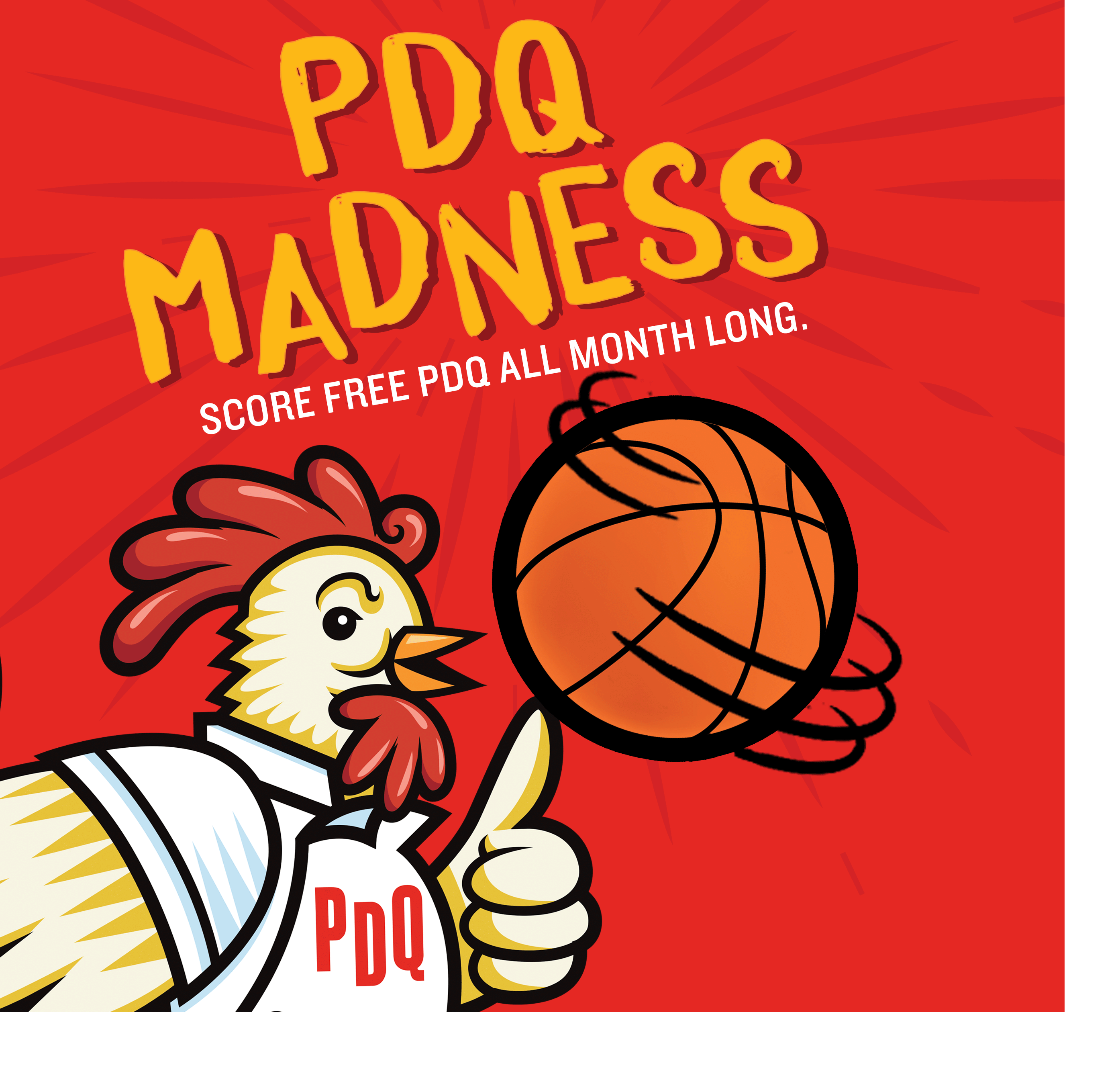 PDQ Madness. Win Free PDQ All Month Long