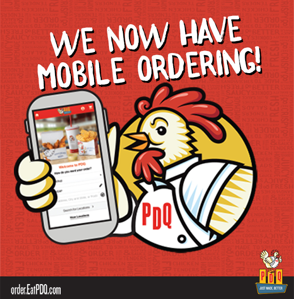 We now have Mobile Ordering