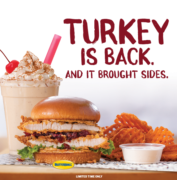 Turkey is Back. And it brought sides.